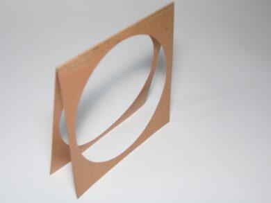 Paper filter frame for ETC S4 PAR(0115028P)