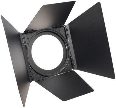 S4 Fresnel Barndoor EU, Short, Black(0118016)