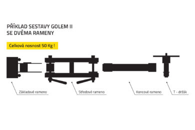 GOLEM II - ASSEMBLY WITH TWO ARMS(0130211)