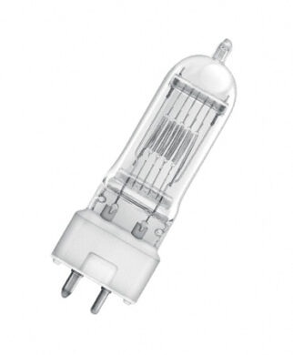 Halogen bulb 650W,  T/27,  230V,  GY9,5  (64718)