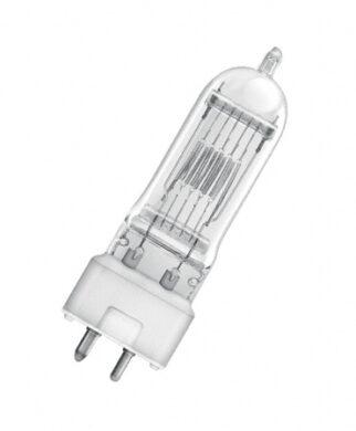 Halogen bulb 650W,  T/27,  230V,  GY9,5(64718)
