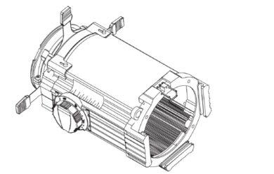 Zoom 25-50° Lens Tube, Black(7060A2032-K)