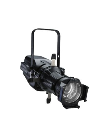 ColorSource Spot Light Engine w. Barrel, XLR, Black  (7413A1201)