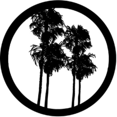 gobo 77283 - Double Palm(77283)