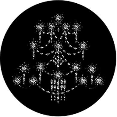 gobo 77290 - Chandelier A(77290)