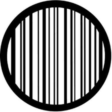 gobo 77423 - Stripes(77423)