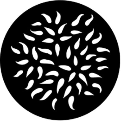 gobo 77596 - Pear Drops(77596)