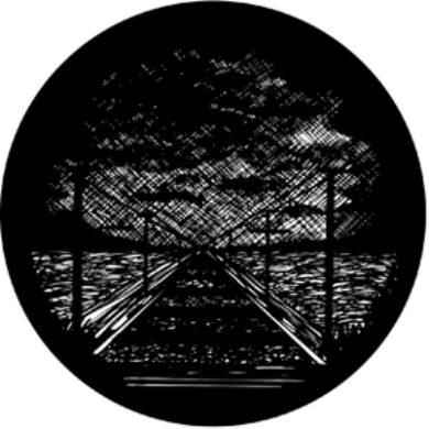 gobo 77613 - Meshed Railway Lines(77613)