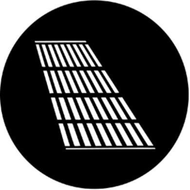 gobo 77622 - Jail Bars Shaddow(77622)