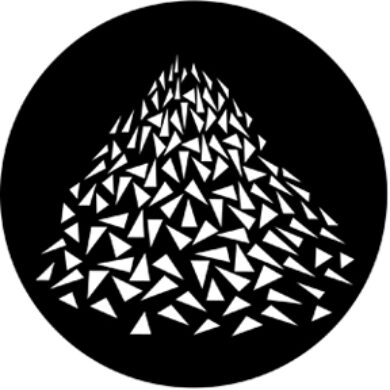 gobo 77637 - Vanishing Triangles(77637)