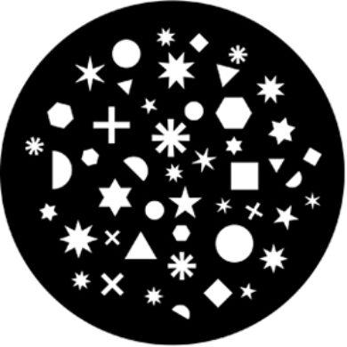 gobo 77640 - Shapes Breakup 2(77640)
