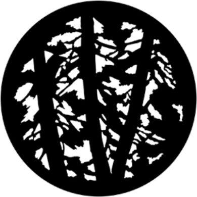 gobo 77734 - Pine Trees(77734)
