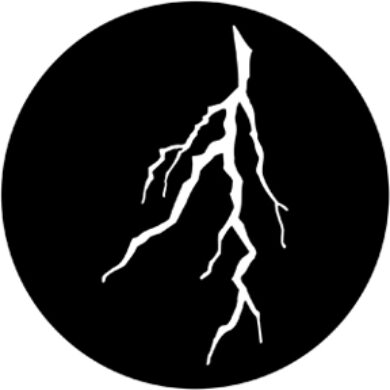 gobo 77776 - Lightning Branch  (77776)
