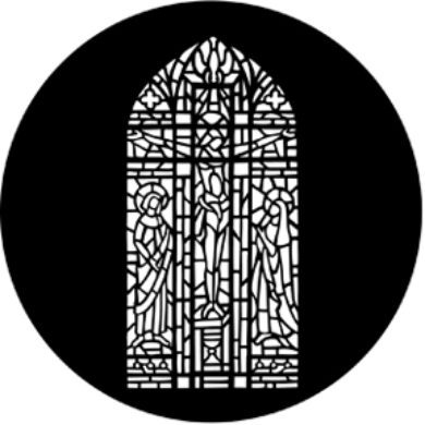 gobo 77802 - Stained Glass Complete(77802)