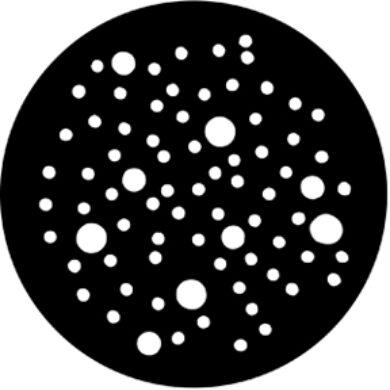 gobo 77808 - Dot Breakup (Large)(77808)