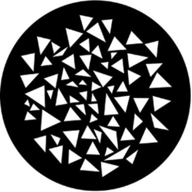 gobo 77879 - Triangle Breakup(77879)