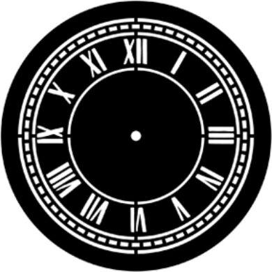 gobo 77920 - Clock Face(77920)