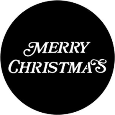 gobo 77939 - Merry Christmas(77939)