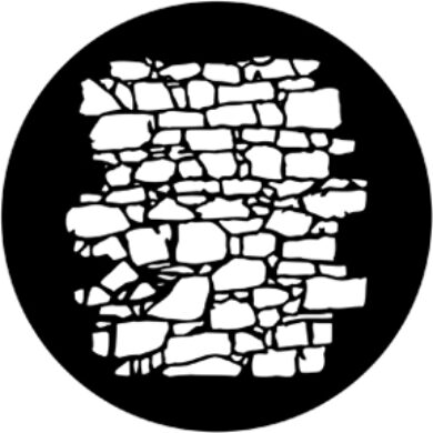 gobo 77951 - Dry Stone Wall 2  (77951)