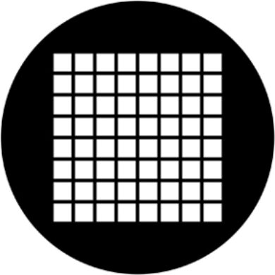 gobo 78041 - Small Squares(78041)