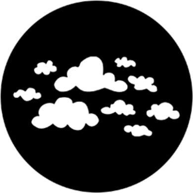 gobo 78169 - Childish Clouds(78169)