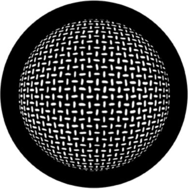 gobo 78445 - Grid Sphere(78445)