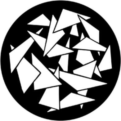 gobo 79076  - Triangles 2(79076)
