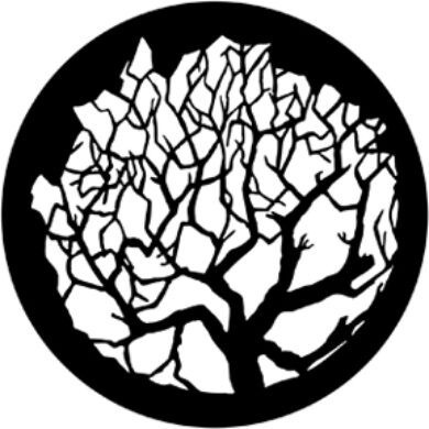 gobo 79101 - Winter Tree 1(79101)