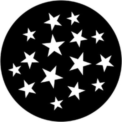 gobo 79219 - Stars 9(79219)