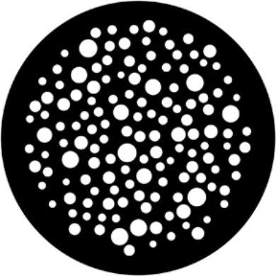 gobo 79650 - Bubbles Small(79650)