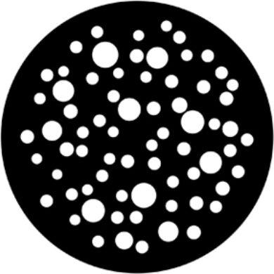 gobo 79653 - Bubbles (medium)(79653)
