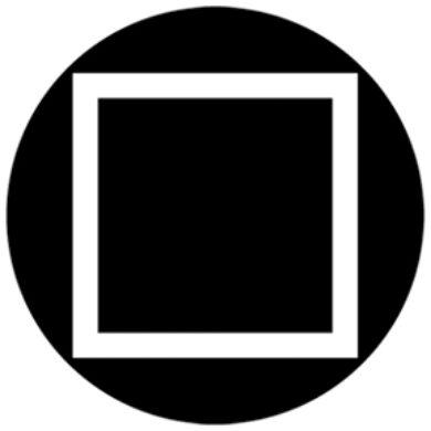 gobo 81116 - Square Outline(81116)
