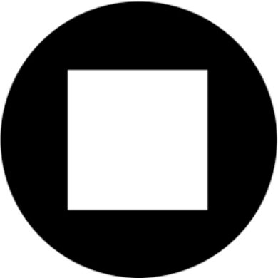 gobo 81187 - Open Square(81187)