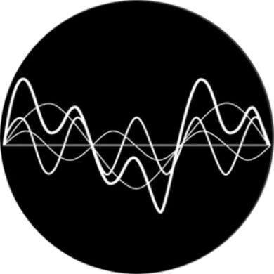 gobo 82777 - Oscillating Wawes Negative(82777)