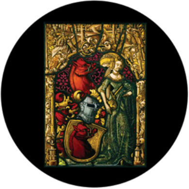 gobo 86673 - Medieval Stained Glass  (86673)