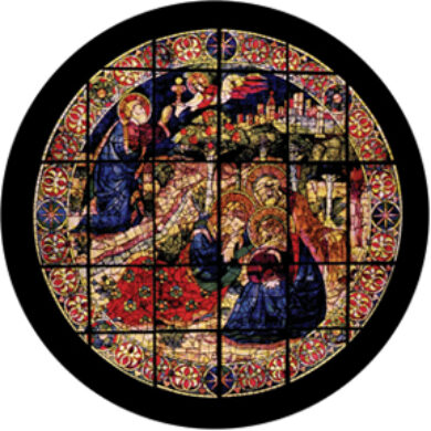 gobo 86676 - Devotional Stained Glass  (86676)