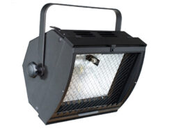 CHR 1000/04  - symetrical flood light - safety glass and filter frame are included in the price