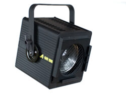 GHR 1000-Spot fixture with fresnel lens. Filter frame included in the price