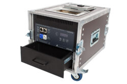 Fog Machine AFM 2000-Case-AFM 2000 Case is a fog machine installed in a transport case. The concept of this machine is based on the requirements and the experiences of the touring companies. When creating AFM 2000 Case maximum emphasis was placed on practicality and reliability.