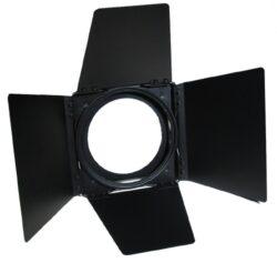 4-leaf rotatable barndoor  for ETC SF PAR-ETC Source Four par vychází z myšlenky firmy ETC, která se opírá o čtyři základní optiky(Source Four). Tyto čtyři čočky s různými divergencemi jsou započítány už v základní ceně výrobku. Oproti klasickým PARům 64 se tak ušetří jak na  příkonu tak počtu žárovek.