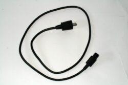 Napájecí kabel s vidlicí- a s přístrojovou zásuvkou