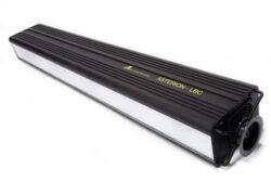 LED rampa ASTERION-LED reflektor pro plošné nasvícení scény.  Osazeno 24 RGBW LED diod o celkovém výkonu 250 W. Kalibrováno na 560 K při plném výkonu.  Svítivost více než 1800 lx / 2m.