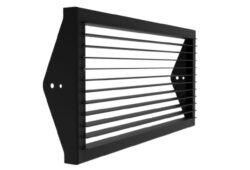 Clona 60° pro WL 150-Clona je určená k oříznutí širokého světelného výstupu. Použití místo klapek, výhoda menší hloubka než klapka.  Nabízíme ve variantách 30 st. , 45 st. a 60 st.