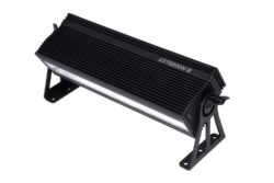 ASTERION II Mini W - ASTERION II Mini is an LED ramp for scene lighting. The ASTERION II Mini luminaires are equipped with half the number of LEDs and the shorter luminaire length corresponds to this Control Protocols DMX512, ArtNet *, sACN *, Wireless DMX **