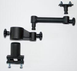one arm guard railing configuration