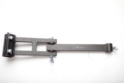 Sestava kl.ramen na trubku 57mm a na zeď,bez závěsného prvku,d-600mm-typ 0130100+0130105 , jako závěsný prvek lze použít typ 0130106,0130107,0130108.