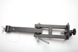 Sestava kl.ramen na dvojité zábradlí,bez závěsného prvku, d-500mm-typ 0130102+0130104 , jako závěsný prvek lze požít typ 0130106,0130107,0130108.