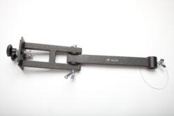 Sestava kl.ramen na dvojité zábradlí,bez závěsného prvku,d-600mm-typ 0130102+0130105 , jako závěsný prvek lze použít typ 0130106,0130107,0130108.
