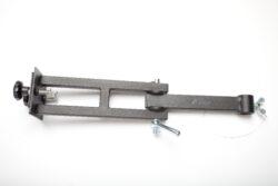 Sestava kl.ramen na dvojité zábradlí,bez závěsného prvku, d-600mm-typ 0130103+0130104 , jako závěsný prvek lze použít typ 0130106,0130107,0130108.