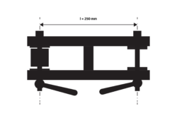 Center arm 250 GOLEM II(0130202)